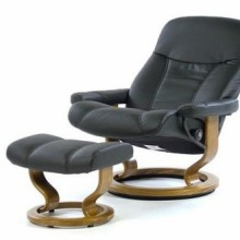 Consul Large Leather Recliner - Ekornes Stressless