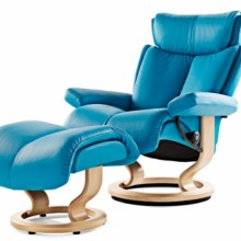 Magic Medium Leather Recliner - Ekornes Stressless