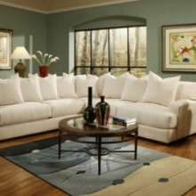 Carlin Fabric Sectional - Jonathan Louis