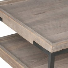 Nicholas Solid Wood Coffee Table