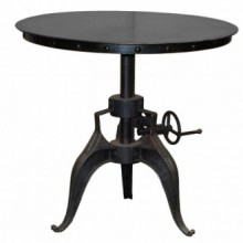 "Eisen Crank Table - 30"" Metal"