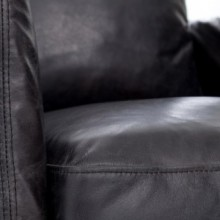 Four Hands Banks Leather Swivel Chair