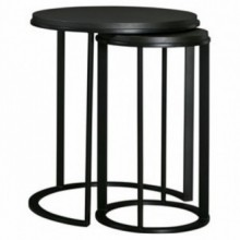 Corydon Nesting Round End Table