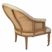 Grace Deconstructed Curved back Chair