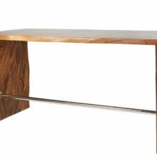 Livingstone Live Edge Solid Wood Bar Height Table