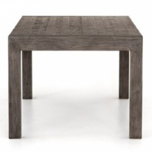 Post & Rail Solid Wood Dining Table