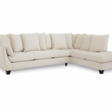 Palliser Leaf Fabric Sectional