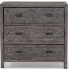 Caminito 3 Drawer Wide Night Stand