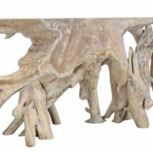Banyon Cypress Root Console Table